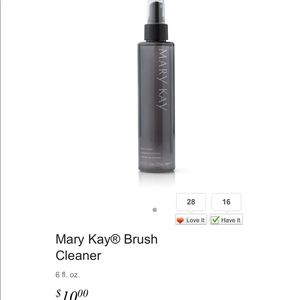 Mary Kay Brush Cleaner